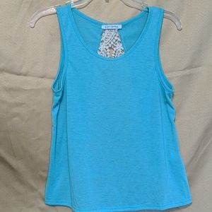 Set of three body central tank tops